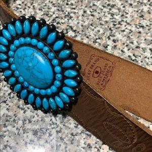 LICKY BRAND leather belt